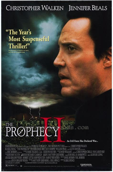 The Prophecy A Thriller the prophecy ii