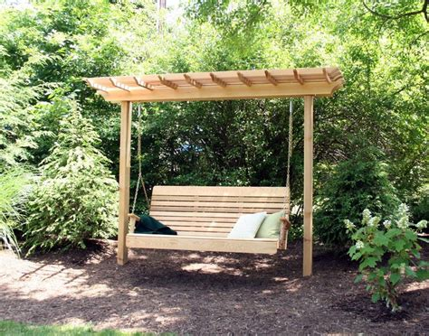 outdoor bench swings 25 best ideas about wooden swings on pinterest garden