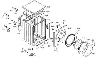 Repair Cabinet Door Hinge Cabinet Parts Diagram Amp Parts List For Model Was24460uc01
