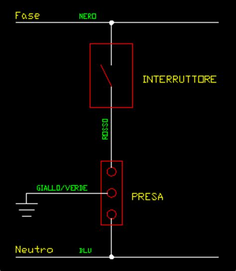 come collegare un interruttore ad una lada schema elettrico presa interruttore invertitore elettrico