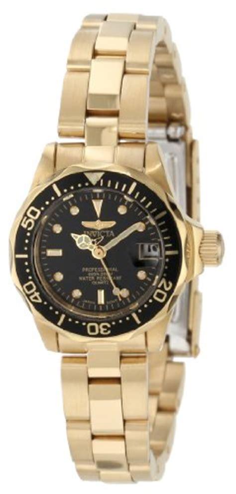 invicta women s 8943 pro diver collection gold tone