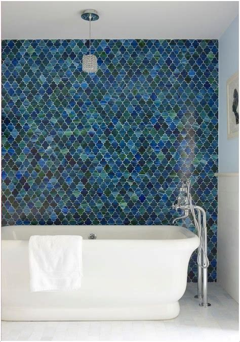 moroccan bathroom tiles ann sachs custom tile beautiful tile wall blue tile