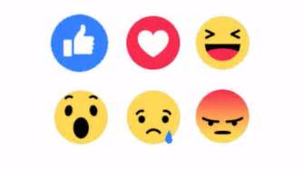 Like this facebook users can now post emoji reactions as well as