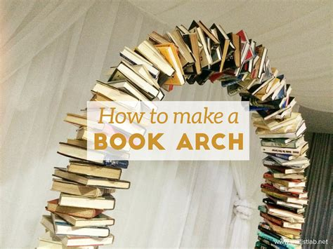 How Do You Make A Book Out Of Paper - how to make a book arch listlab