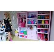 Como Fazer Guarda Roupa Closet Com Papel&227o Para Barbie E