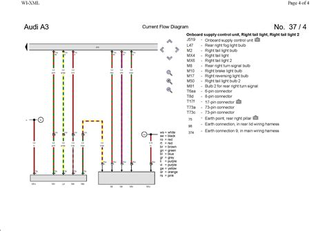 pin out wiring diagram rear led cluster audi sport net