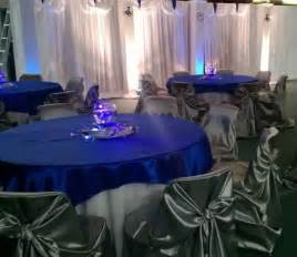 royal blue and silver wedding ideas if i get