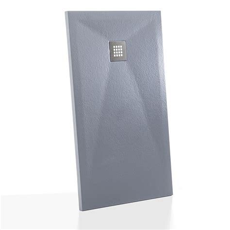 doccia 100x70 piatto doccia 100x70 cm in resina effetto pietra grigio