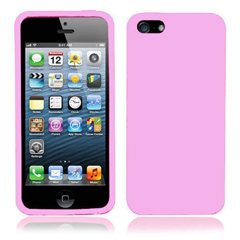 P Iphone 5s Silicone For Iphone 5 5s Pink