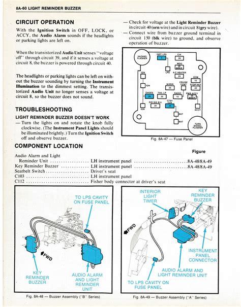 car lights on reminder wiring diagrams wiring diagram