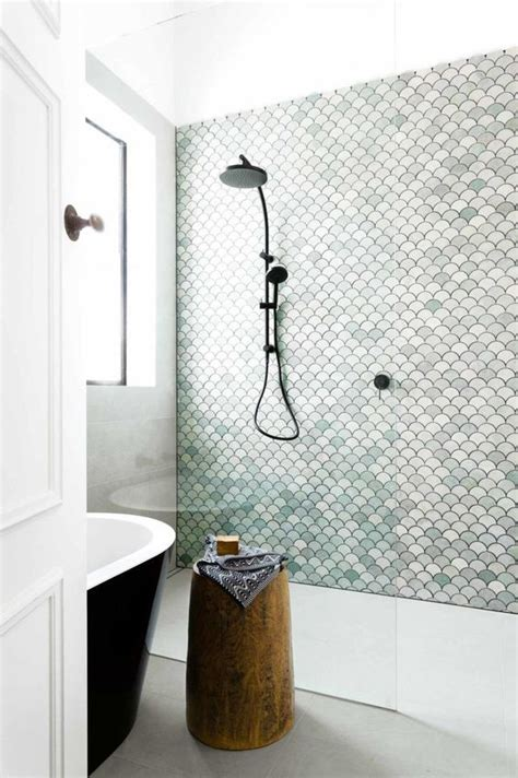 fish tiles bathroom design fish scales and fish on pinterest