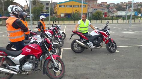 alpay sueruecue kursu  motorsiklet egitimi youtube