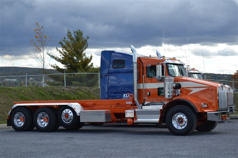 kenworth t800 roll one of several new t800 s purchased flickr