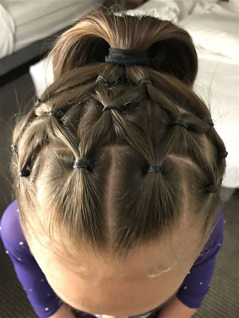 hair styles for gymnastic meets the 25 best ideas about gymnastics hair on pinterest