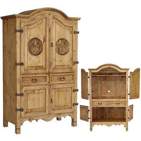 rustic pine armoire texas mexican rustic pine armoire
