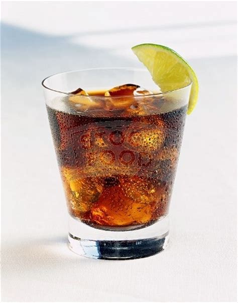 rum and coke cocktails drinks pinterest