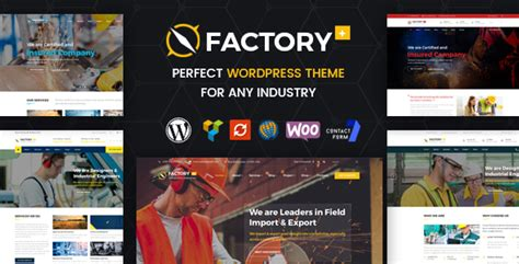 themeforest industrial themeforest factory plus download industry factory