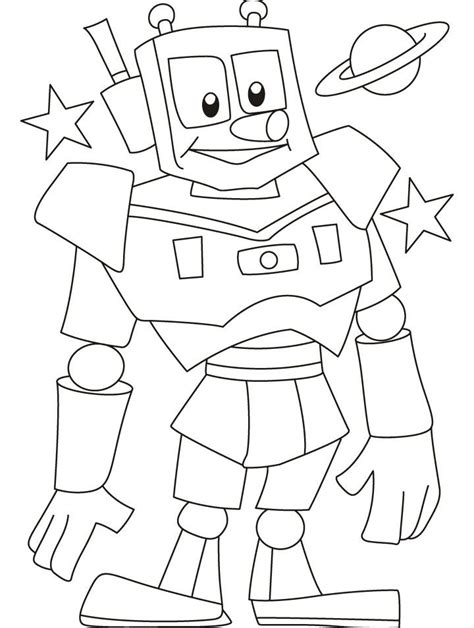 red robot coloring page robots coloring pages az coloring pages