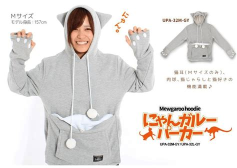 architecture and design baby hoodie new hoodie lets you wear your pet like a baby kangaroo