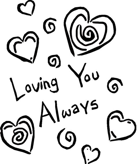 new coloring pages that say i love you 3091
