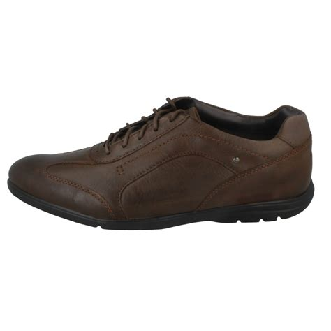 up shoes mens rockport casual lace up shoes ebay