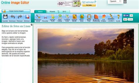 image editor espectacular editor de imagenes gratuito