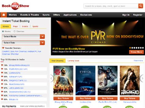 bookmyshow pvr pvr bookmyshow sign 5 year agreement