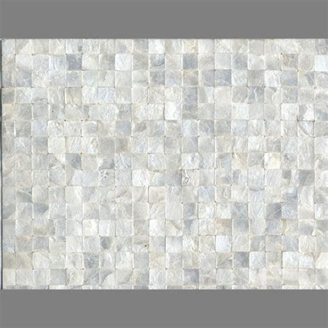 square inlaid white pearl shell wall tiles shells 008