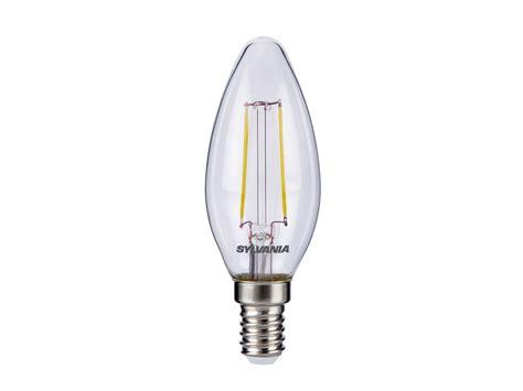 Sylvania 2 5w Led Traditional Candle Light Bulb E14 Ses Candle Led Light Bulb