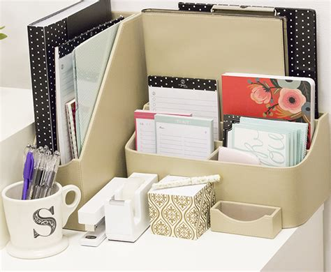 how to organize your desk at work the sorority secrets getting organized with office depot