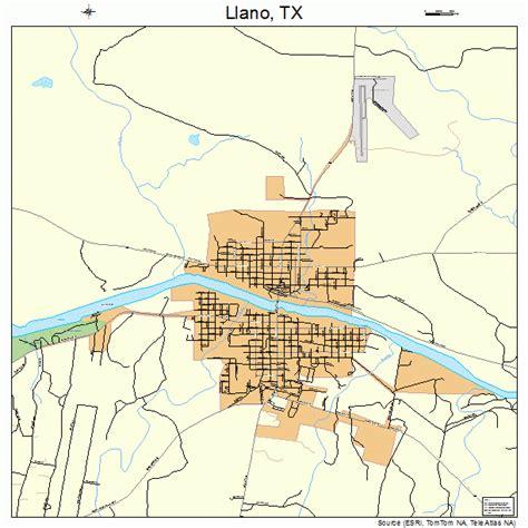 llano texas map llano texas map 4843144