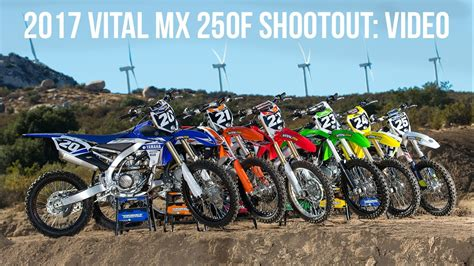 motocross 250f shootout 2017 250f motocross shootout vital mx