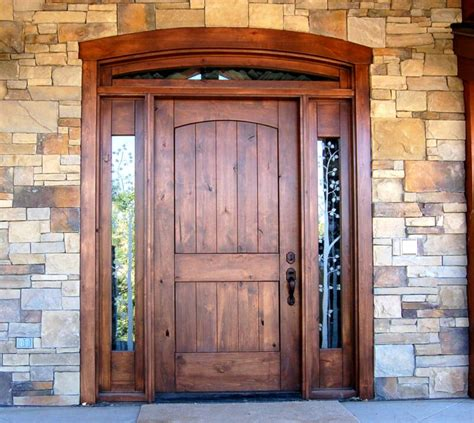 Wood For Exterior Doors Best 25 Solid Wood Front Doors Ideas On Wood