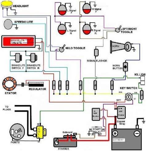 wiring diagrams club chopper forums