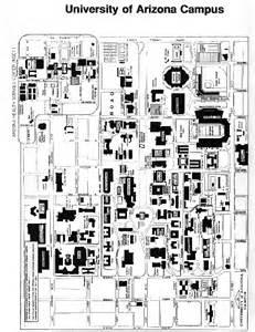 U Of Arizona Map by University Of Arizona Campus Map Galleryhip Com The