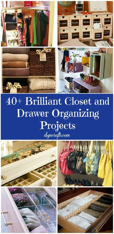 40 brilliant closet and drawer organizing projects dec 242 r