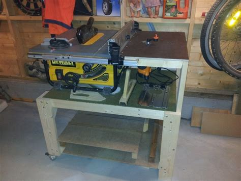 dewalt table saw dw745 dewalt dw745 table saw station with router woodworking
