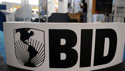 Bid Asta El Banco Interamericano De Desarrollo Llama A Presentar
