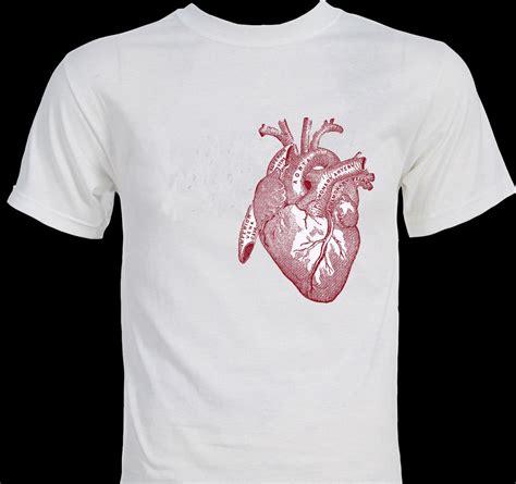 design t shirt unique big heart anatomy anatomical illustration drawing art