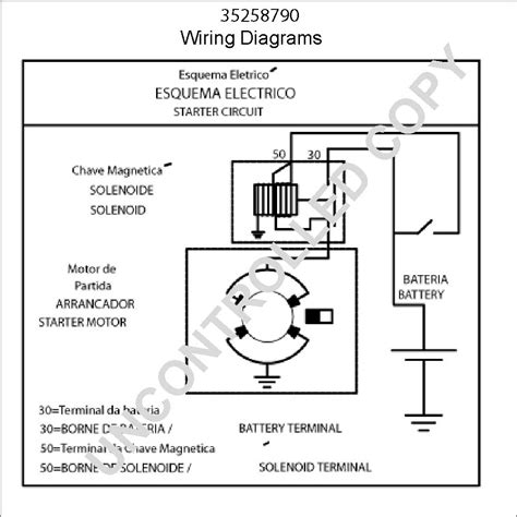 wiring diagram for starter motor wiring diagram with