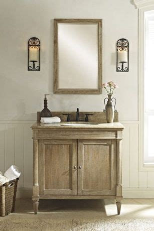 Salle De Bain Rustique 810 by Rustic Chic Powder Room Vanity Blissful Bathrooms In