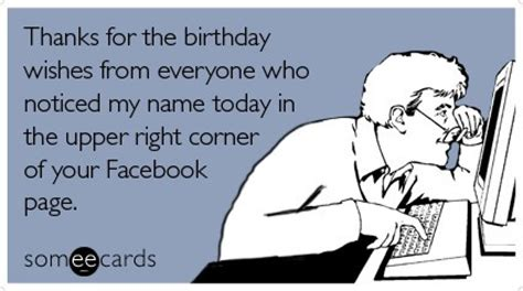 Facebook birthday wishes oh how you have to love them