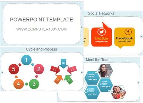 Download Template Powerpoint Gratis Dari Computer 1001 Computer 1001 Template Powerpoint Animasi