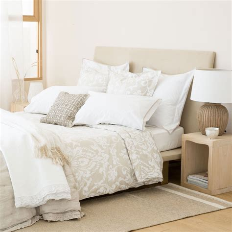 ropa cama zara home s 225 banas y fundas estado damasco zara home pinterest