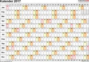 Kalender 2018 Schulferien Steiermark Kalender 2017 Zum Ausdrucken In Excel 16 Vorlagen