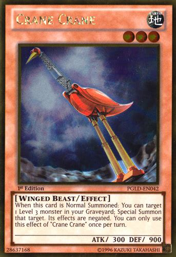 Kartu Yugioh Crane Crane Gold 1 The Official Burning Abyss Guide And Discussion Vii