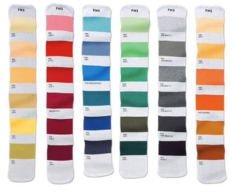 pantone color coded scarves would match any perfectly designtaxi