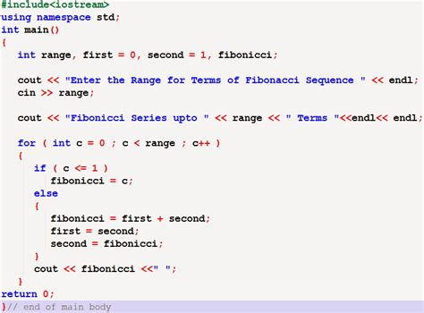 flowchart for fibonacci series using for loop c program to find fibonacci series with understanding