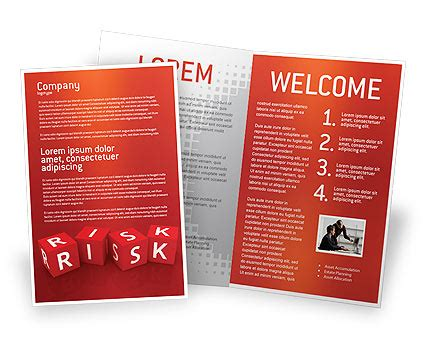 brochure template red red cross brochure templates design and layouts