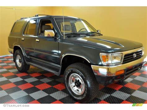 1995 Toyota 4runner Sr5 V6 1995 Evergreen Pearl Toyota 4runner Sr5 V6 4x4 32269020